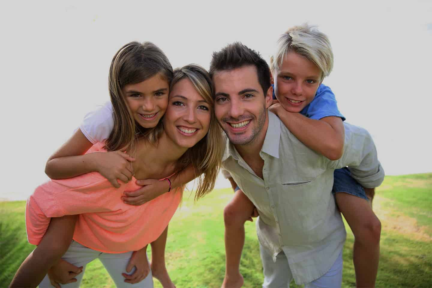 Family Smiling - Orthodontics For Family