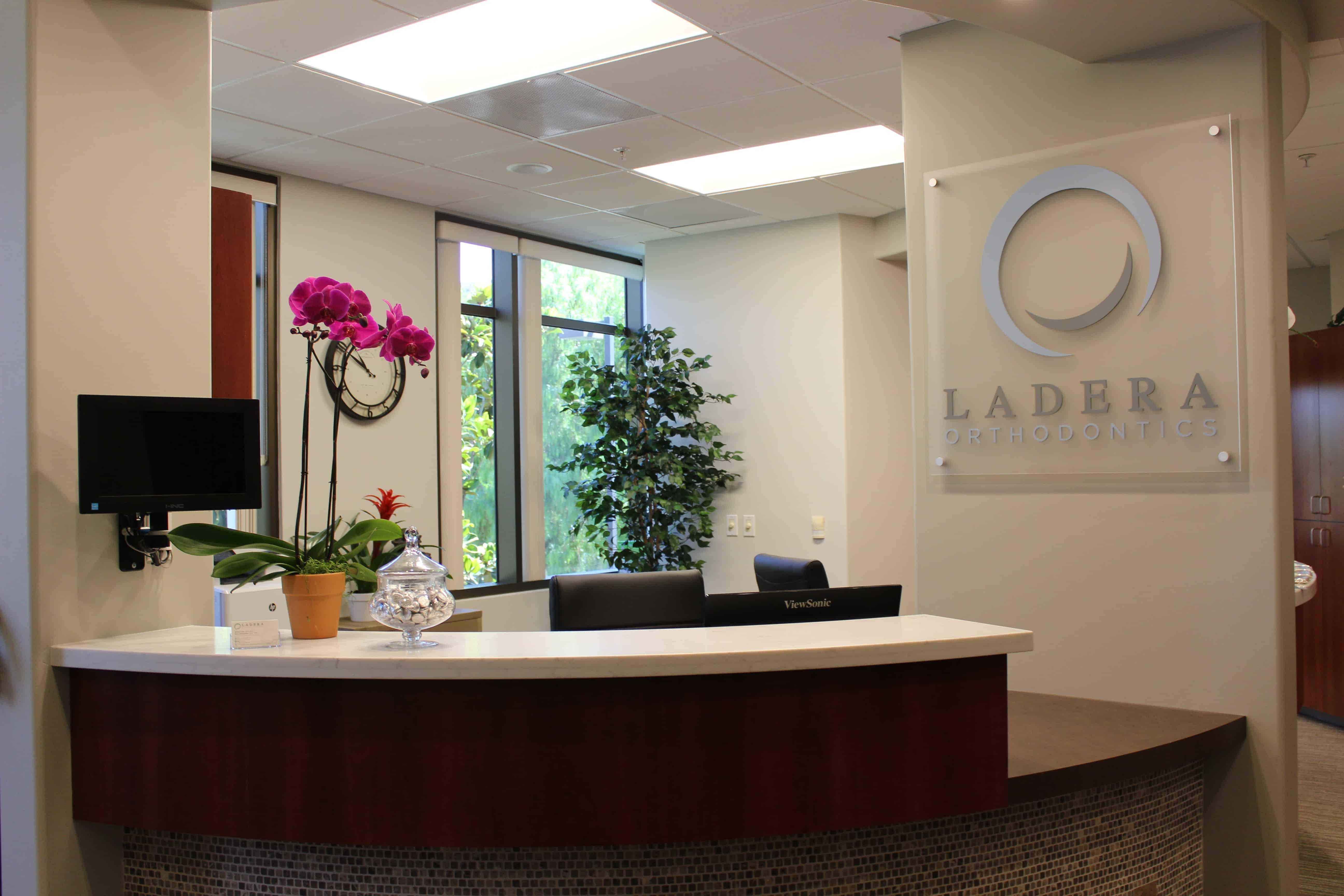Reception - Ladera Orthodontics